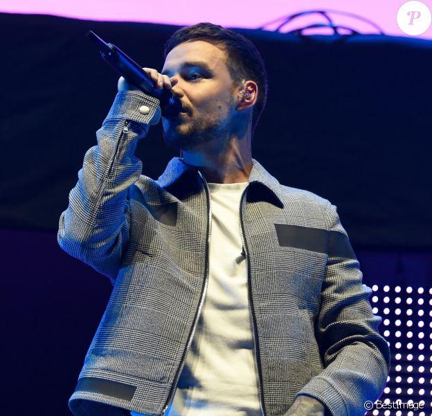 Liam Payne et Rita Ora en concert à l'Arena de Manchester, le 14 juillet 2018.