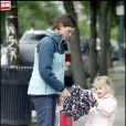Jennifer Garner et sa fille Violet Affleck se promènent dans les rues de Boston