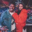 DJ Ruckus et Shanina Shaik. Octobre 2018.
