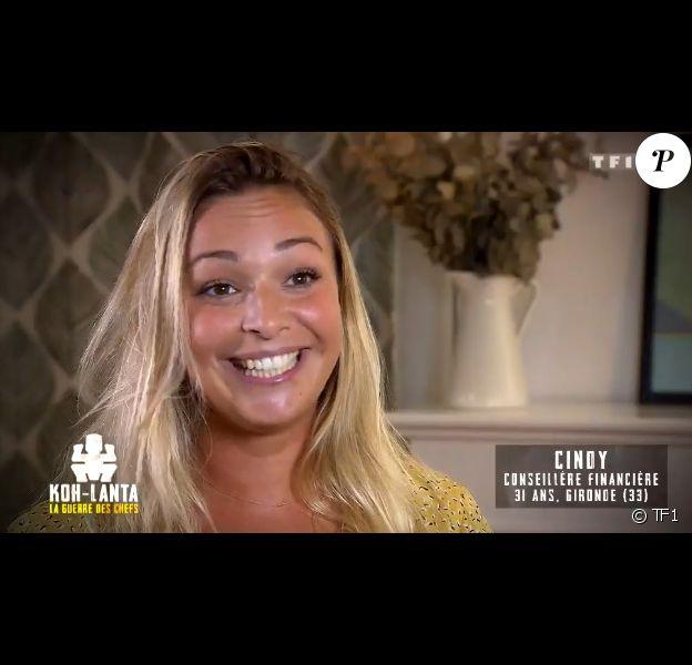 """Cindy, candidate de """"Koh-Lanta, la guerre des chefs"""" (TF1)."""