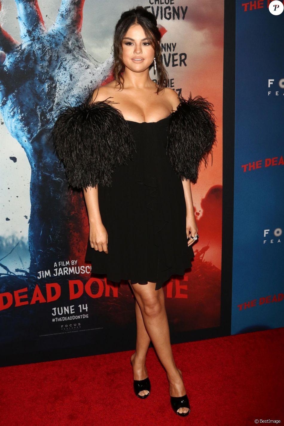 Selena Gomez à la première de The Dead Don't Die au Museum of Modern Art à New York, le 10 juin 2019.