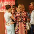 Felicity Huffman et son mari William H. Macy sont allés assister à la remise du diplôme de leur fille Sofia Grace à Hollywood, Los Angeles, le 10 juin 2019