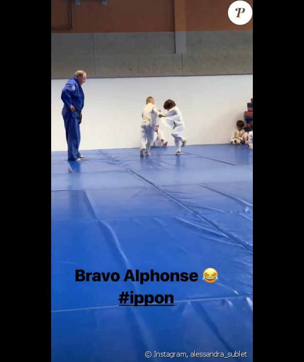 Alessandra Sublet sur Instagram- 12 juin 2019.