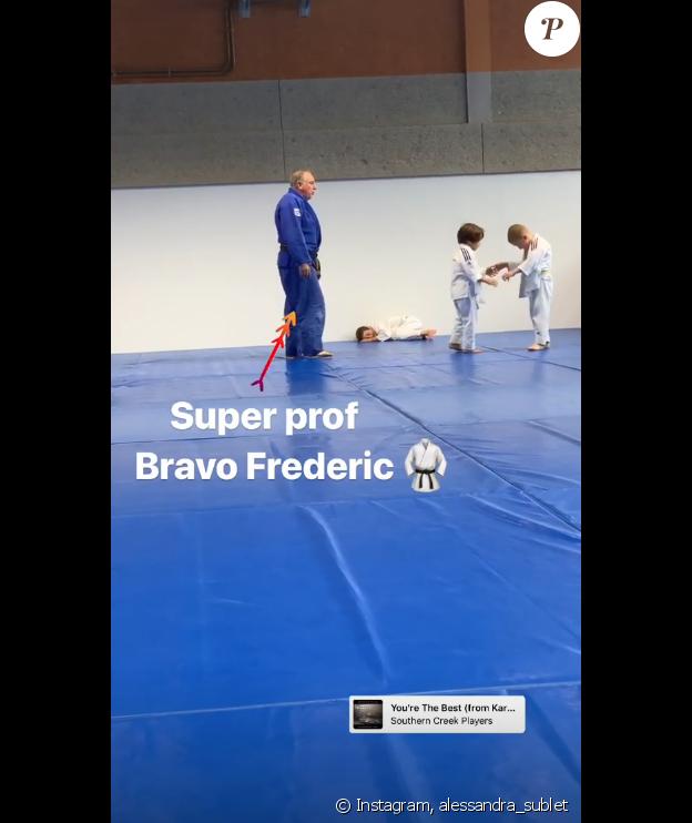 Alessandra Sublet sur Instagram- 12 avril 2019.