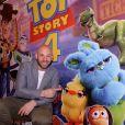 """Exclusif - Franck Gastambide assiste à la séance exceptionnelle du film """"Toy Story 4"""" lors du Marrakech du rire au cinéma colisée à Marrakech au Maroc le 13 juin 2019. © Rachid Bellak/bestimage"""