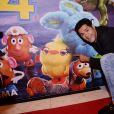 """Exclusif - Jamel Debbouze assiste à la séance exceptionnelle du film """"Toy Story 4"""" lors du Marrakech du rire au cinéma colisée à Marrakech au Maroc le 13 juin 2019. © Rachid Bellak/bestimage"""
