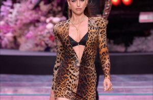 Irina Shayk, Bella et Gigi Hadid... Félines et sensuelles pour Donatella Versace
