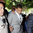 Chris Brown à la Cour supérieure de Los Angeles lors de son procès le 22 juin 2009