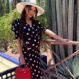 Nabilla Benattia sublime en robe au musée Yves-Saint-Laurent à Marrakech - Instagram, 20 juin 2019