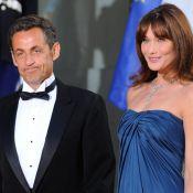 Carla Bruni et Nicolas Sarkozy : pour leur magnifique réception, le monde politique et people avait joué la carte du glamour...