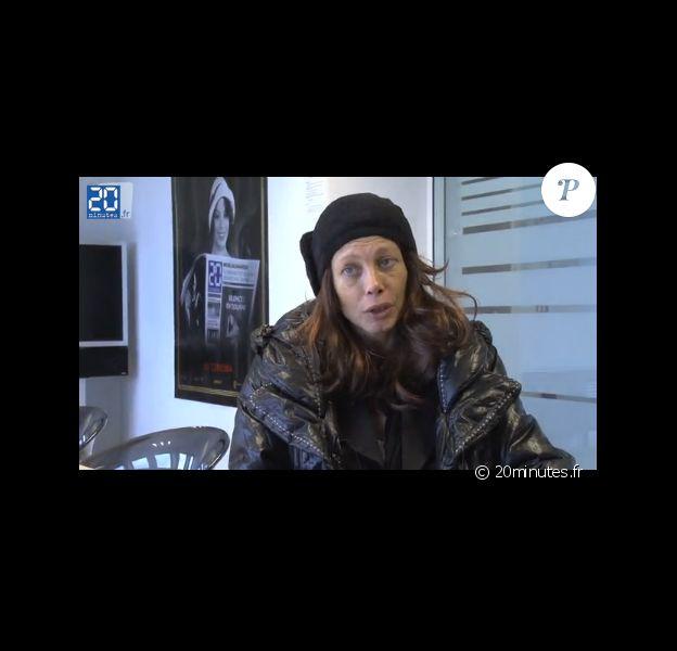 Mallaury Nataf lors d'une interview avec le site 20minutes.fr