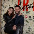 Iris Mittenaere (ambassadrice de la marque Morgan, Miss France 2016 et Miss Univers 2016) et Christophe Beaugrand à la soirée de lancement la nouvelle collection Iris Mittenaere for Morgan (Morgandetoi), Sortie officielle le 03.04.2019, à La Maison des Centraliens à Paris, France, le 14 mars 2019. © Rachid Bellak/Bestimage