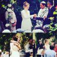 """Sophie Brafman de """"C'est au programme"""" le jour de son mariage, le 21 juin 2019"""