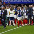 L'équipe de France lors de la Coupe du monde féminine de football, Groupe A, France vs Nigeria à Rennes, France, le 17 juin 2019. La France a gagné 1-0. © Pierre Perusseau/Bestimage