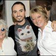 Représentation du spectacle Au delà des murs de Catherine Lara, le 23 juin 2009 : avec Christophe Willem et Alice Dona