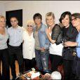 Représentation du spectacle Au delà des murs de Catherine Lara, le 23 juin 2009 : tous ses amis célèbres étaient là !