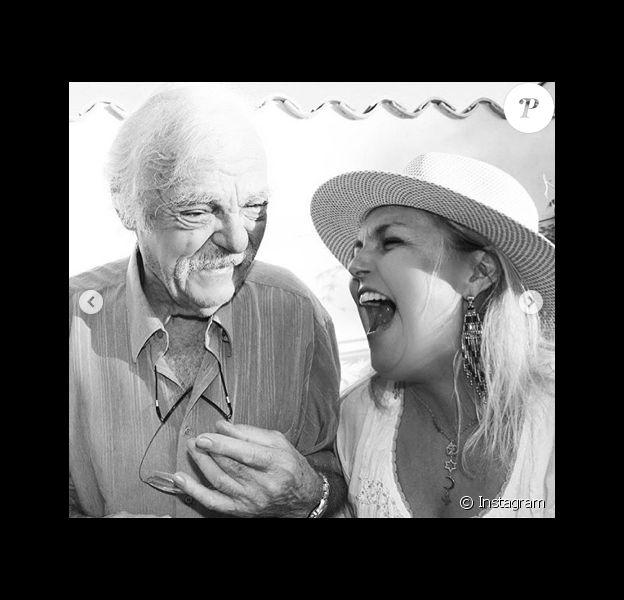 Valérie Damidot et son père.