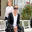 """Olivia Palermo lors du défilé de mode Haute-Couture automne-hiver 2019/2020 """"Ralph & Russo"""" à Paris le 1er juillet 2019. © Christophe Clovis / Veeren Ramsamy / Bestimage"""