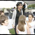 Rachida Dati célèbre la Fête de la musique dans le VIIe arrondissement. 21/05/09