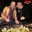 Exclusif - Le DJ Albert de Paname et Fabien Onteniente - Soirée La Petite Folie au Pachamama à Paris, France, le 21 mars 2018. © Philippe Baldini/Bestimage