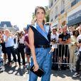 """Nikki Reed arrive au défilé de mode Haute-Couture 2019/2020 """"Jean Paul Gaultier"""" à Paris. Le 3 juillet 2019 © Veeren Ramsamy-Christophe Clovis / Bestimage"""