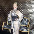 """Christina Aguilera assiste au défilé de mode Haute-Couture automne-hiver 2019/2020 """"Jean Paul Gaultier"""" à Paris. Le 3 juillet 2019 © Olivier Borde / Bestimage"""