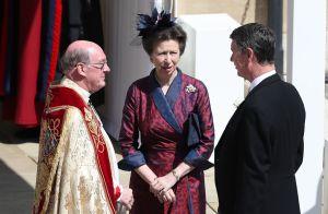 Princesse Anne : La fille de la reine et son mari Tim Laurence en deuil