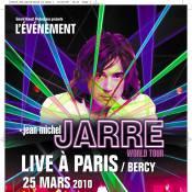 Jean-Michel Jarre : Il entame une grande tournée en France ! Il sera à Paris-Bercy en 2010 !
