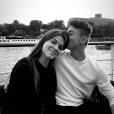 Solal, le fils de Vanessa Demouy, et sa chérie. Photo Instagram, à Paris, le 10 juillet 2019