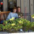 Ryan O'Neal et Redmond le fils qu'il a eu avec Farrah Fawcett en 2006