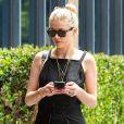 Amber Heard se promène dans les rues de Los Angeles le 10 juillet 2019.