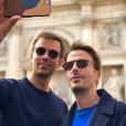 Jean-Baptiste Marteau et son mari Bruno sur Instagram.