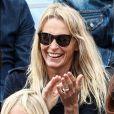 Estelle Lefébure - Célébrités dans les tribunes des internationaux de France de tennis de Roland Garros à Paris, France, le 7 juin 2019. © Cyril Moreau/Bestimage