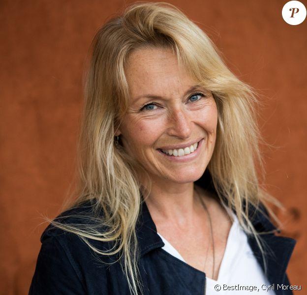 Estelle Lefébure au village des internationaux de France de tennis de Roland Garros 2019 à Paris le 7 juin 2019. © Cyril Moreau / Bestimage