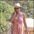 Keisha sur une plage de Hawaï