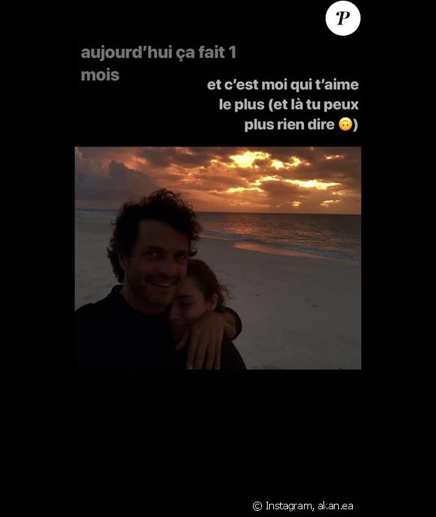 """Angelica, fille de Aure Atika et Philippe """"Zdar"""" sur Instagram, le 19 juillet 2019."""
