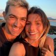 Jean-Pascal Lacoste et Delphine Tellier, le 20 juillet 2019 à Saint-Jean-de-Luz.