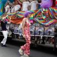 La Gay Pride, à Paris. 27/06/09