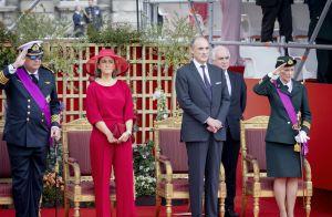 Laurent de Belgique : Au téléphone en plein défilé de la Fête nationale...