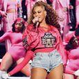 Beyoncé en concert au festival de Coachella. Le 21 avril 2018.