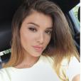 """Kleofina de """"Pékin Express 2019"""" fait un selfie sur Instagram, le 9 juillet 2019"""