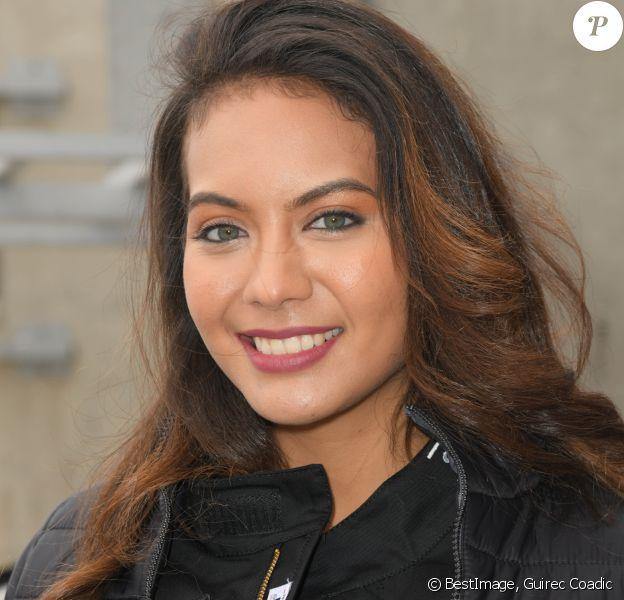 """Exclusif - Vaimalama Chaves (Miss France 2019) lors de la 2ème édition du """"Girls Charity Racing"""" dans le cadre de l'évènement """"TALON PISTE X Exclusive Drive"""" sur le circuit du Mans. © Guirec Coadic/Bestimage"""
