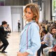 """Malika Ménard assiste au défilé de mode Haute-Couture automne-hiver 2019/2020 """"Georges Chakra"""" au Palais de Tokyo à Paris. Le 1er juillet 2019."""