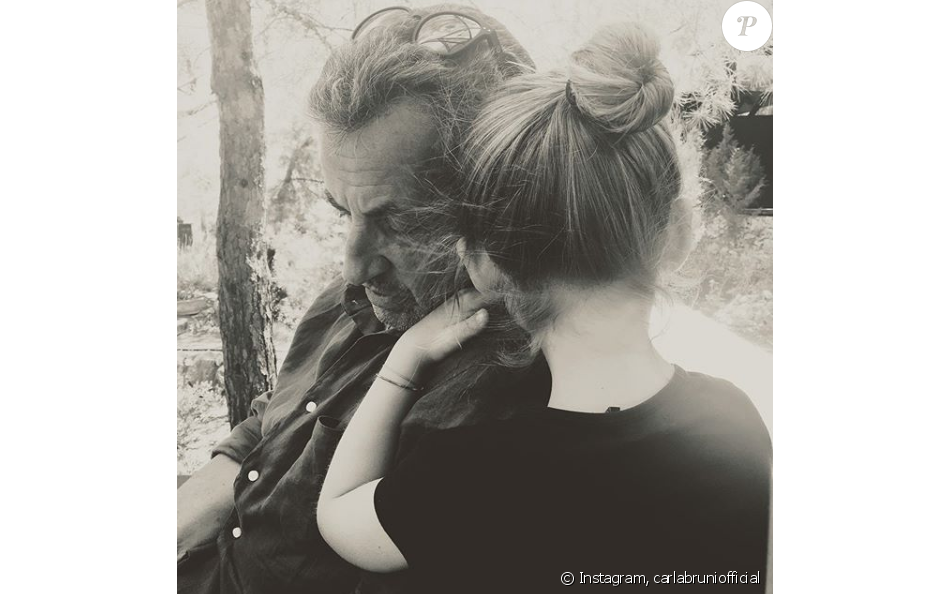 NICOLAS SARKOZY et sa fille Giulia sur Instagram.