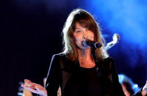 Carla Bruni en vacances: vidéo de sa fille Giulia, de profil, avec un nouvel ami