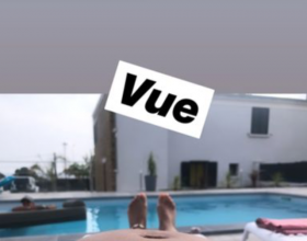 Alizée très enceinte, fin juillet 2019, en Corse.