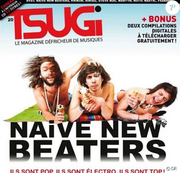 Les Naive New Beaters en couverture de Tsugi, juin 2009