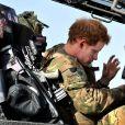 Le prince Harry d'Angleterre aura servi en tant que co-pilote d'un hélicoptère Apache pendant 4 mois au camp Bastion en Afghanistan. Son service prend fin ce le 21 janvier 2013.
