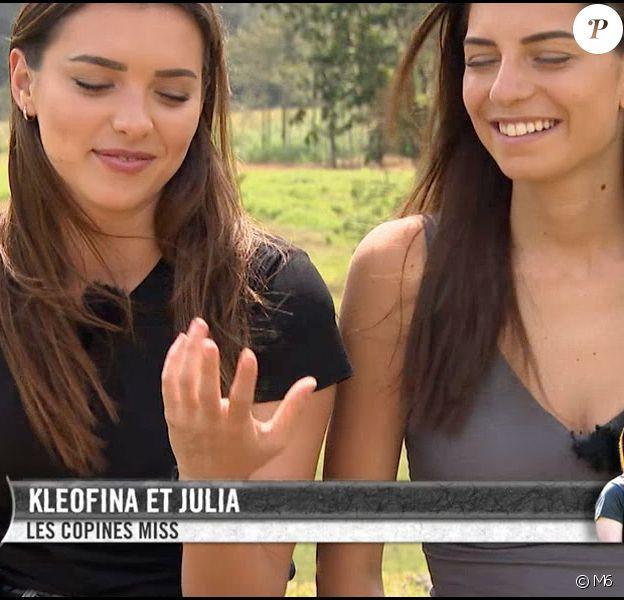 """Kleofina et Julia - Emission """"Pékin Express 2019"""", diffusée sur M6 le 8 août 2019."""