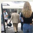 Violette sur le compte Instagram d'Inès de la Fressange, le 21 juillet 2019.